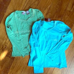 Roxy girls tops - both in large